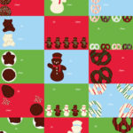 Chocolate Wrapping Paper Tags