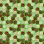 Chocolate Wrapping Paper Design 1
