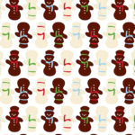 Chocolate Wrapping Paper Design 2