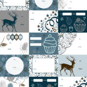 Dazzle Wrapping Paper Tags