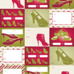 Divas Wrapping Paper Tags