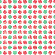 Peppermint Scented Wrapping Paper Design 3