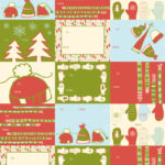 Scarves and Mittens Wrapping Paper Tags