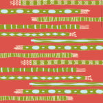 Scarves and Mittens Wrapping Paper Design 3