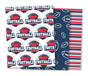 Custom Sports Wrapping Paper