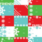 World Holiday Wrapping Paper Tags