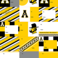 App State Wrapping Paper Tags
