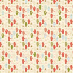 Scarves and Mittens Wrapping Paper Design 2