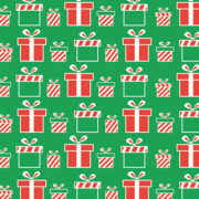 Peppermint Scented Wrapping Paper Design 2