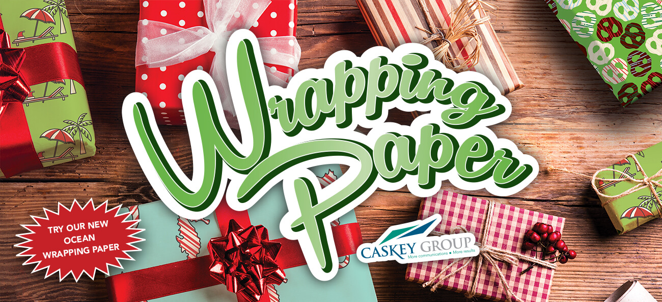 Wrapping Paper by Caskey Group