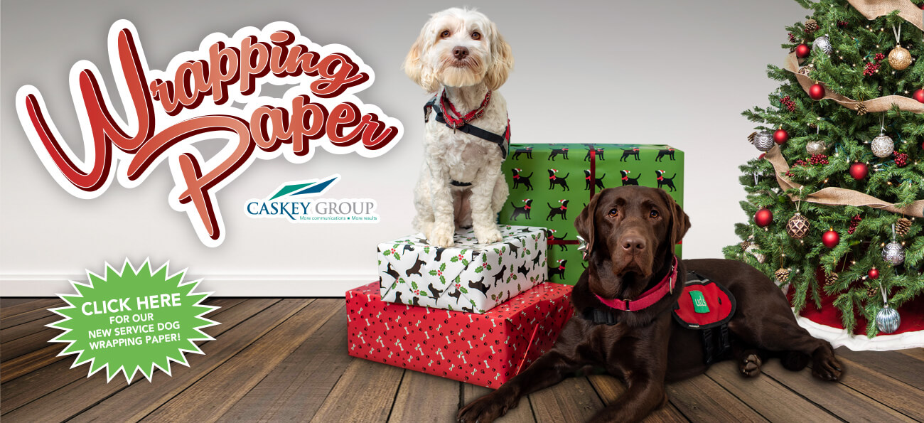 Service Dogs Wrapping Paper